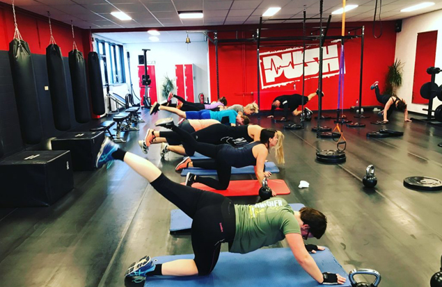 Yoga in Shape bij PUSH Training Studio in Nieuwegein